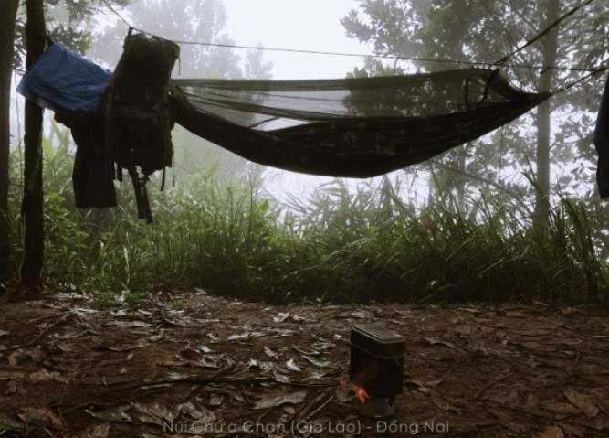 Trải nghiệm một đêm trên núi chứa chan