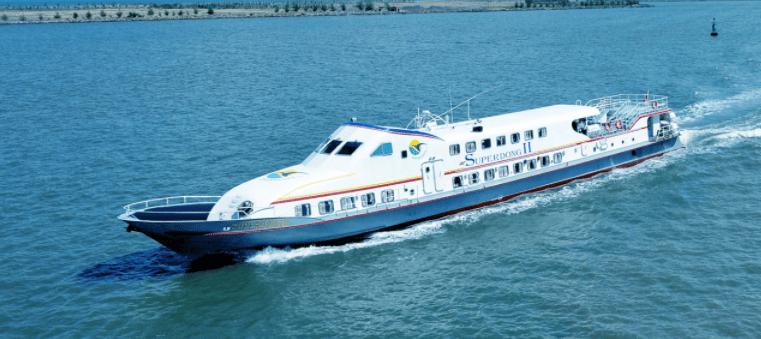 Trải nghiệm tàu cao tốc SuperDong