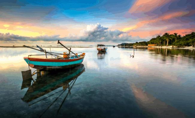 Vẻ đẹp huyền ảo tại vùng biển Phú Quốc