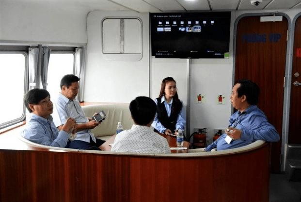 tàu cao tốc Vũng Tàu Bến Tre