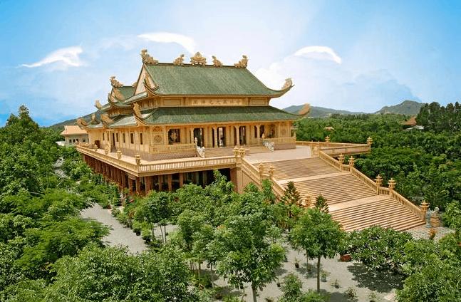 chùa linh thiêng ở vũng tàu