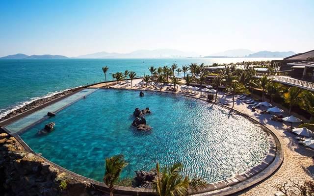 Amiana nằm yên bình bên một ốc đảo xinh đẹp với vùng biển xanh trong và miền cát trắng tinh (Ảnh ST)