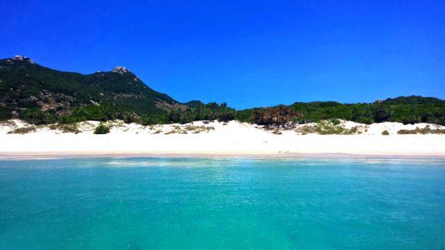 Biển xanh cát trắng nắng vàng ở Sa Huỳnh (Ảnh ST)