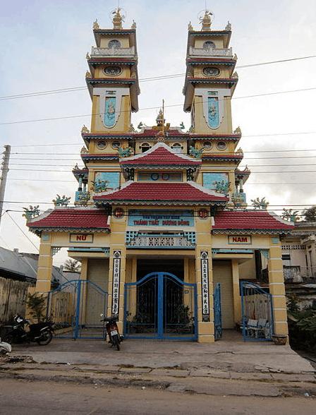 Hình chùa Thánh Thất Dương Đông