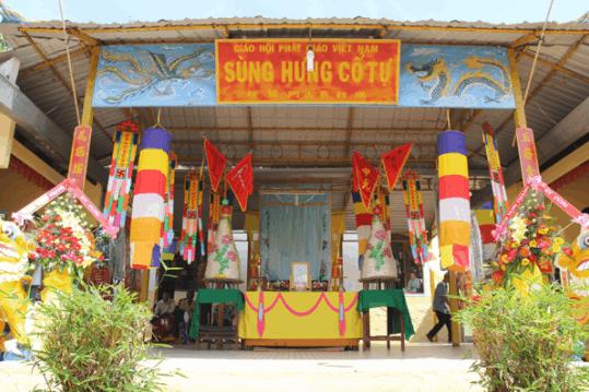Hình ảnh lễ Trai Đàn tại chùa Sùng Hưng Cổ Tự