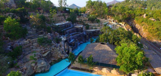 Một góc khu du lịch I- Resort Hot Mineral Spring (Ảnh ST)