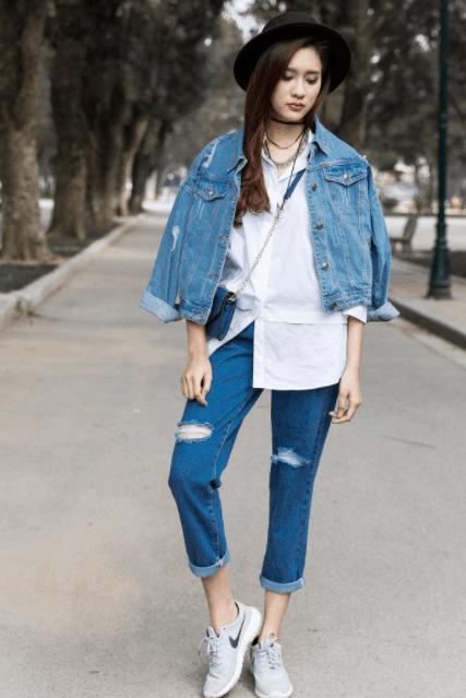 Lựa chọn quần jean mặc đi chơi Phú Quốc
