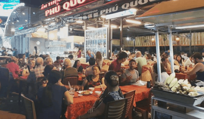 Quán hải sản Nhớ Phú Quốc