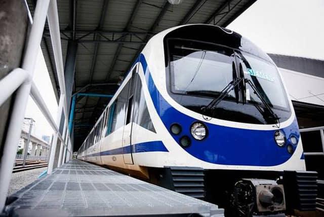 Tàu điện ở thành phố Bangkok (ẢNH ST