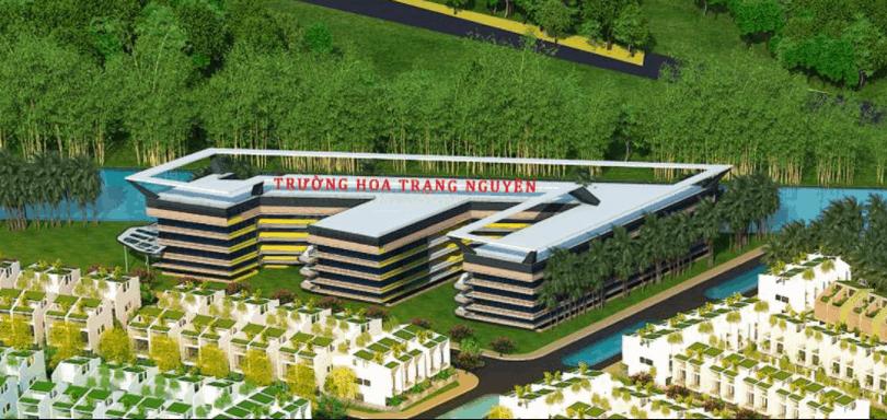 Bản vẽ mô hình trường học ở Làng Sen Việt Nam