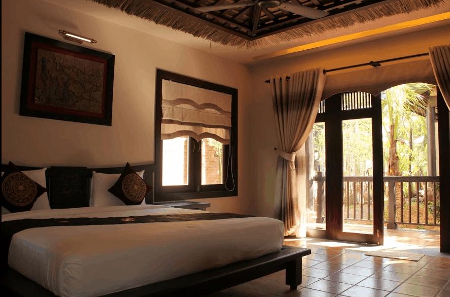 Phòng nghỉ ở khu du lịch