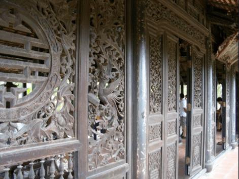 Nhà rương Huế được chạm khắc tinh tế