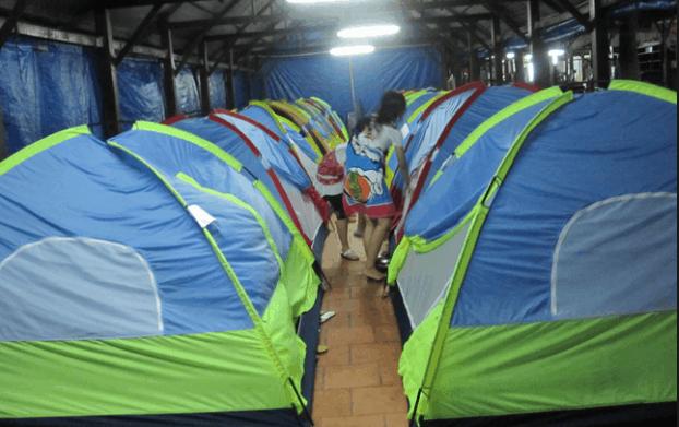 Khu lều nghỉ ở Hòn Rơm 2