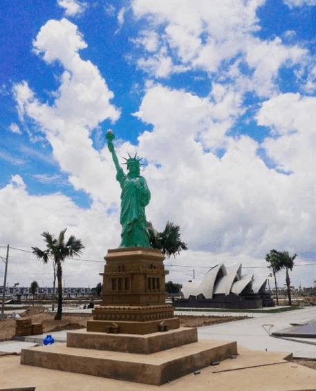 Tượng Nữ thần tự do - biểu tượng của New York