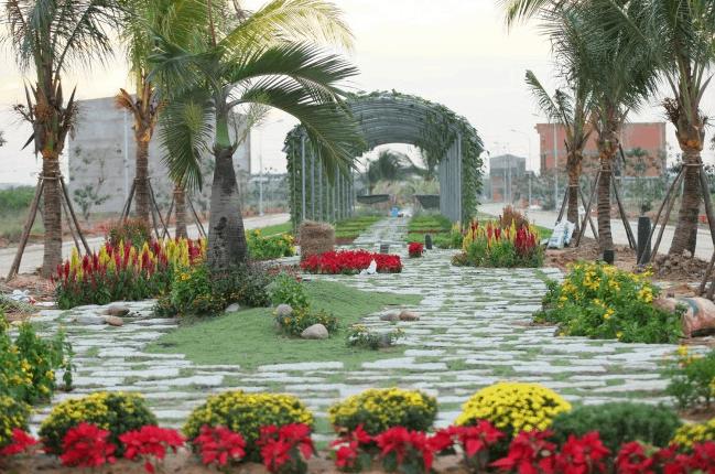 Khuôn viên công viên