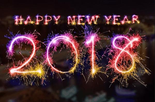 Chào đón năm mới 2018
