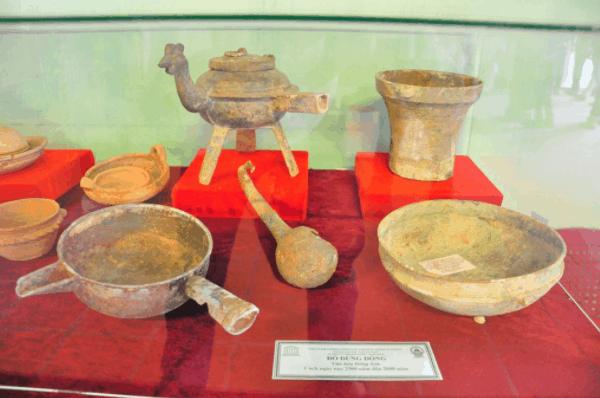 Chiêm ngưỡng các di vật cổ của nền văn hóa Óc Eo xưa