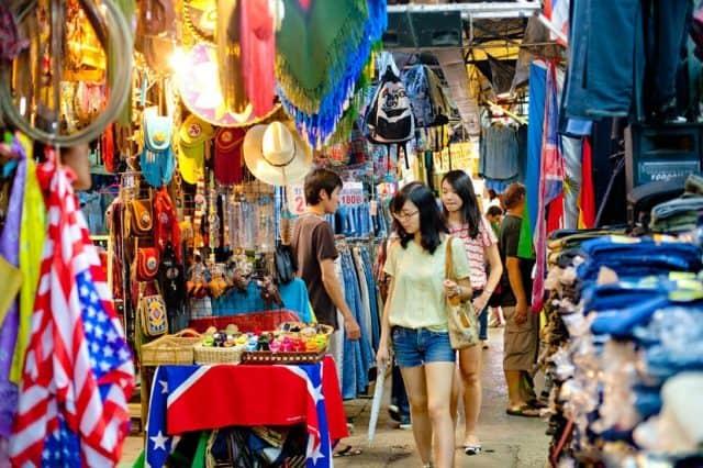 Chợ đêm Bangkok ở đâu? (Ảnh ST)