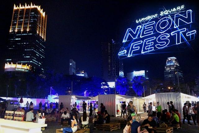 Chợ đêm Neon Fest (Ảnh ST)
