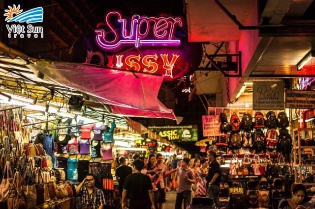 Chợ đêm Patong (Ảnh ST)