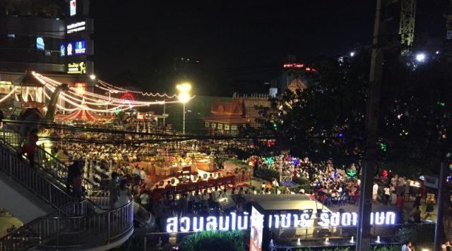 Chợ đêm Suan Lum – Ratchada (Ảnh ST)