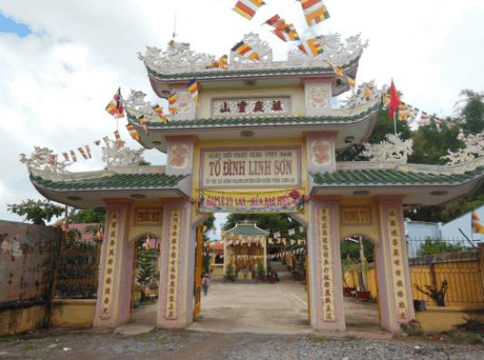 Hình ảnh chùa Linh Sơn Cần Giuộc