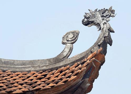 Chùa Kim Cang có lối kiến trúc truyền thống đẹp mắt