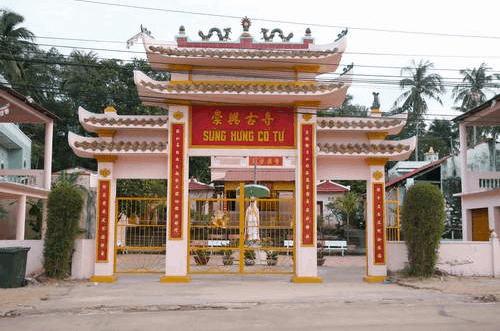 Chùa Sùng Hưng - Phú Quốc