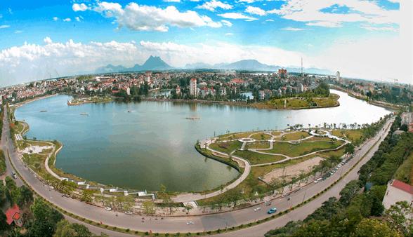 Công viên Văn Lang - Địa điểm bắn pháo hoa tại Phú Thọ