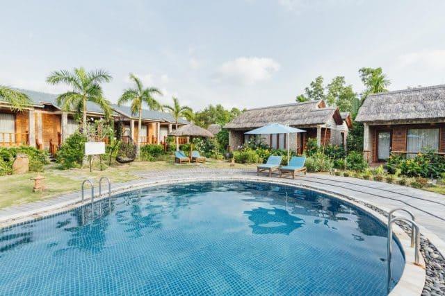 Trải nghiệm không gian xanh mát tại Cottage Village Phú Quốc (Ảnh ST)