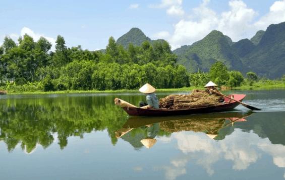 Cuộc sống bình dị tại Búng Bình Thiên