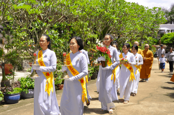 Đại lễ Vu Lan tại chùa Linh Sơn