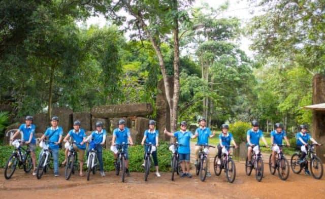 Đạp xe đạp khám phá nét bình yên của buôn làng Tây Nguyên (Ảnh ST)