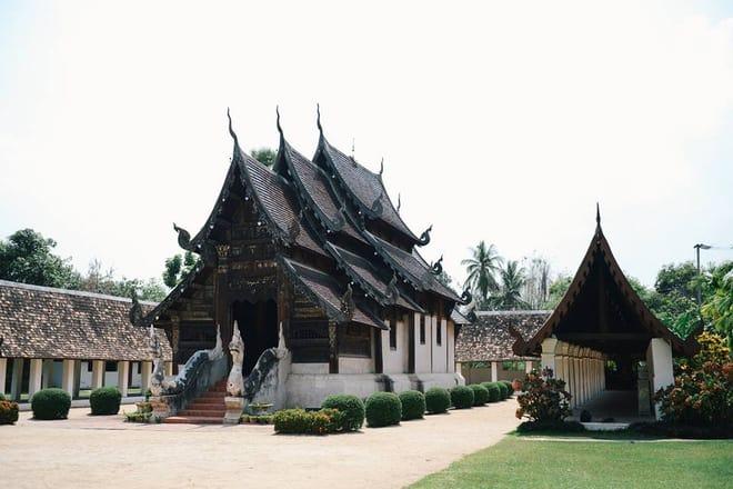 Đền To Kwen ở Chiang Mai (Ảnh ST)