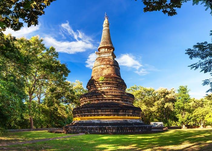 Đền Umong ở Thái Lan (Ảnh ST)