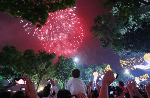 Địa điểm bắn pháo hoa tại Hà Nội