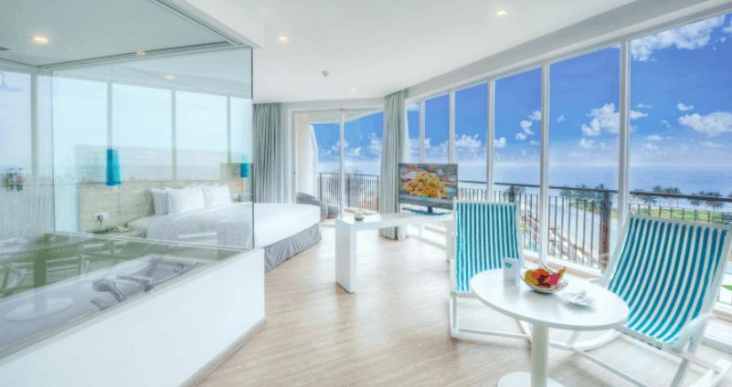 Sol Beach House có không gian phòng nghỉ tuyệt đẹp