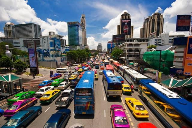 Các loại phương tiện di chuyển ở Bangkok (ẢNH ST)