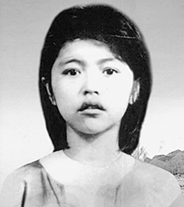 Hình ảnh chị Võ Thị Sáu lúc 14 tuổi