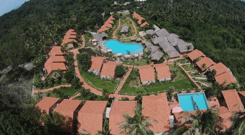 Hình ảnh khuôn viên khu nghỉ dưỡng Daisy Phú Quốc
