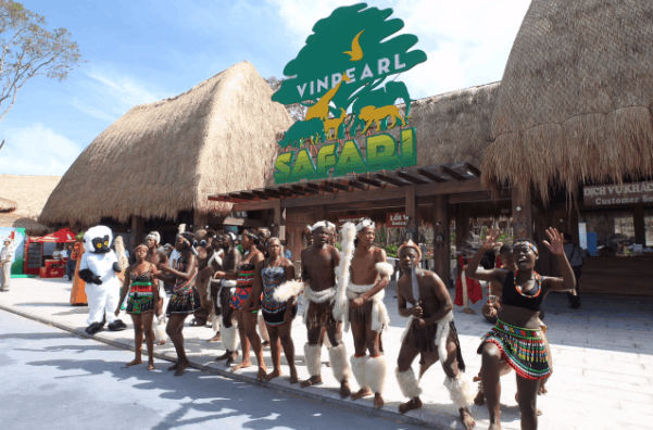 Hòa mình vào vũ điệu Zulu náo nhiệt