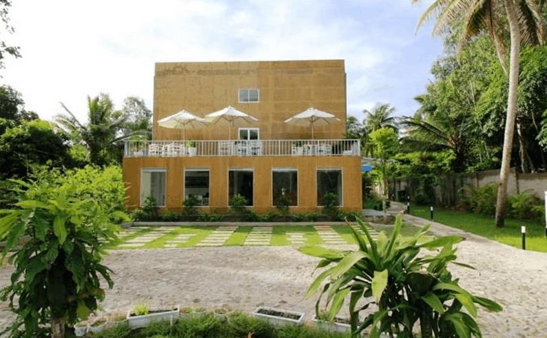 Khách sạn Emis Phu Quoc có lối thiết kế độc đáo