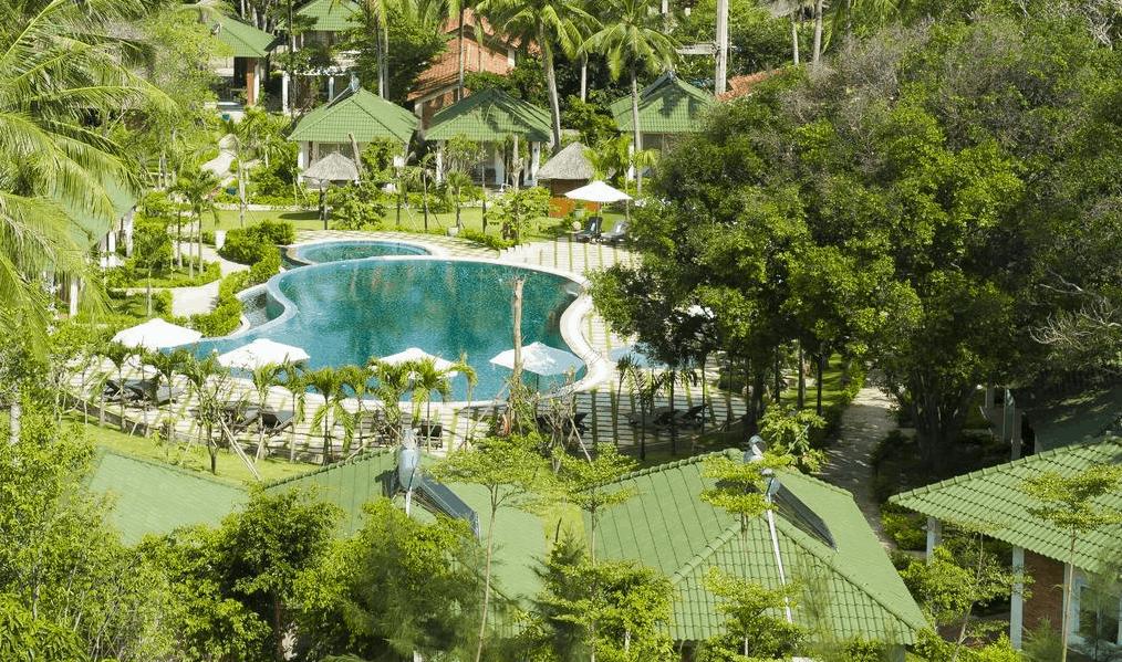 Không gian khu nghỉ dưỡng Famiana Green Villa