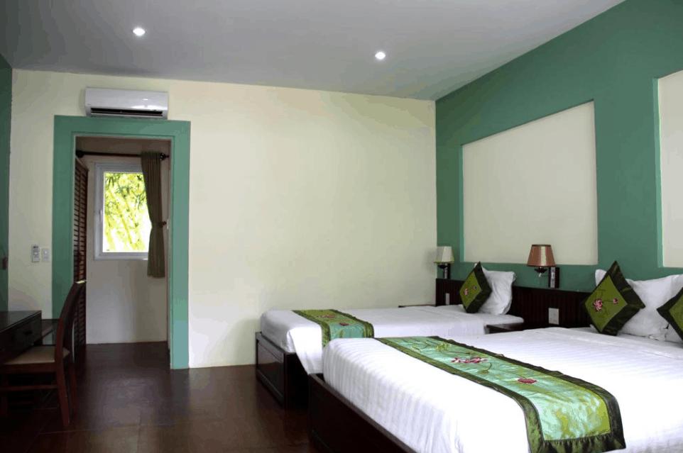 Không gian phòng nghỉ khách sạn Mỹ Lan