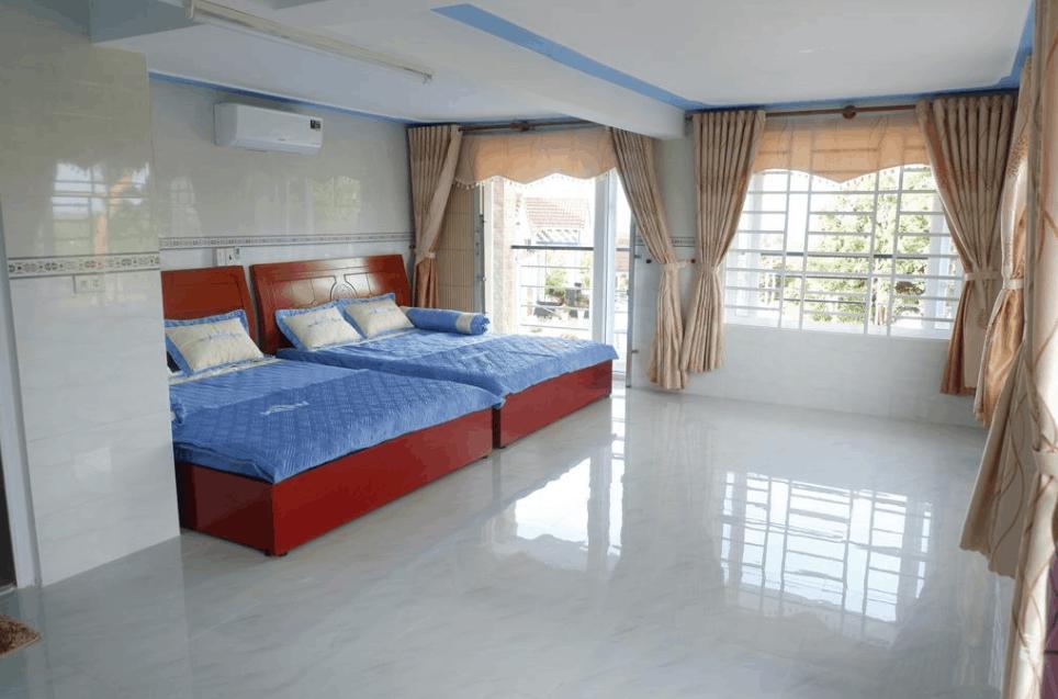 Không gian phòng nghỉ tại khách sạn Hạnh Mai