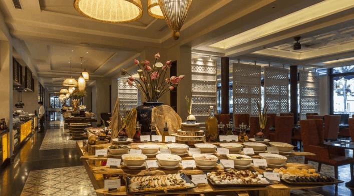 Khu nhà hàng cao cấp tại Salinda Island Resort and Spa
