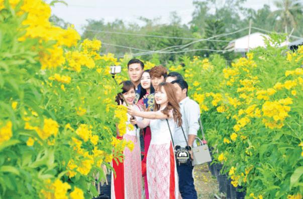 Làng hoa Sa Đéc - Địa điểm chụp ảnh lý tưởng dành cho bạn trẻ