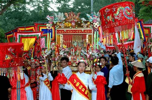 Lễ hội chùa Bà Chúa Xứ