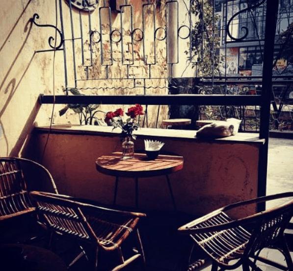 Lựa chọn những quán cafe có không gian lãng mạng