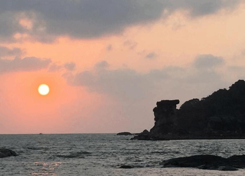 Ngắm khung cảnh hoàng hôn lãng mạng tại An Yen Resort